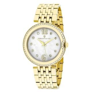 Christian Van Sant Women's Jasmine CV1615 Mother of Pearl Dial watch