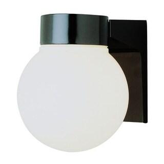 Trans Globe Lighting PL-4800 Regency Energy Efficient 1 Light Fluorescent Outdoor Globe Wall Sconce