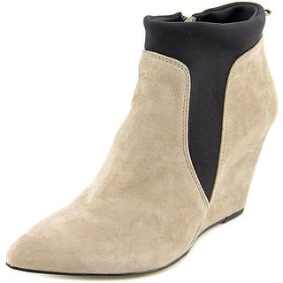 Bella Vita Deryn WW Open Toe Suede Wedge Heel
