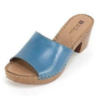 White Mountain Women's Morsel Slide Sandal