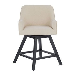 Offex Home Spire Swivel Counter Stool - Beige