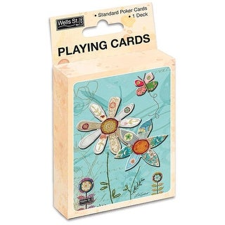 Single Pack Bloom Playing Cards
