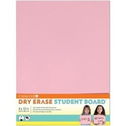"""Pink - Student Dry Erase Board 9""""X12"""""""