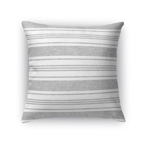 Kavka Designs grey/ white cummaquid accent pillow with insert