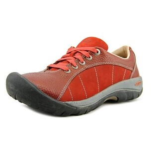 Keen Presidio Women Round Toe Leather Hiking Shoe