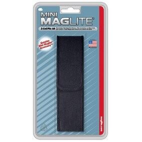 Maglite Nylon Full Flap Holster AA