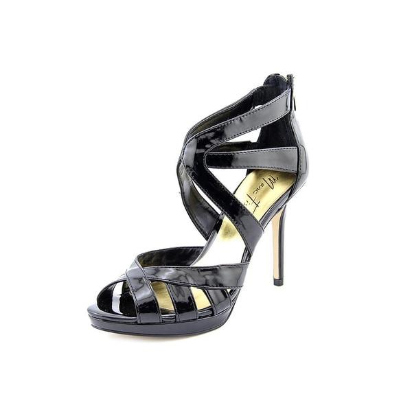 Marc Fisher Ziro 2 Women  Open Toe Synthetic Black Sandals