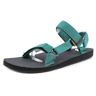 Teva M Original Universal Men Open-Toe Canvas Green Sport Sandal