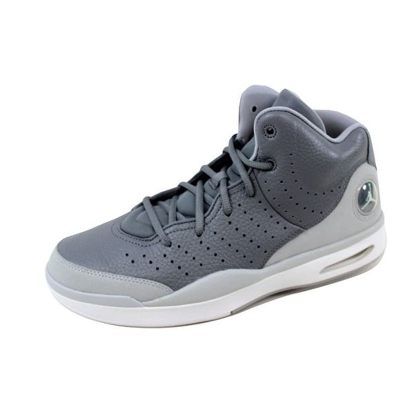 c5a301f5bd1 Shop Nike Men's Air Jordan Flight Tradition Cool Grey/White-Wolf ...