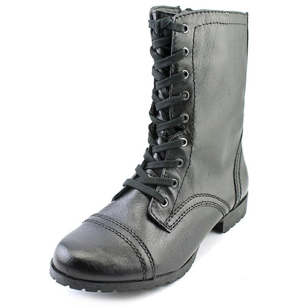 Nine West Haileigh Women Round Toe Leather Ankle Boot