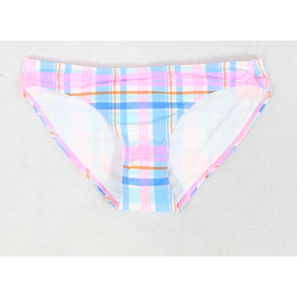 89231018b487b7 Shop Vineyard Vines NEW Blue Womens Size XS Madras Plaid Bikini Bottom - On  Sale - Free Shipping On Orders Over $45 - Overstock - 20468393