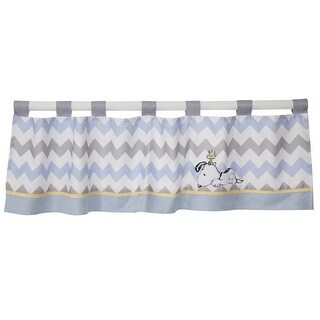 Lambs & Ivy Blue My Little Snoopy Window Valance