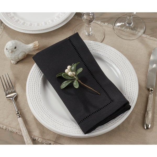 Rochester Collection Hemstitched Napkin. Opens flyout.