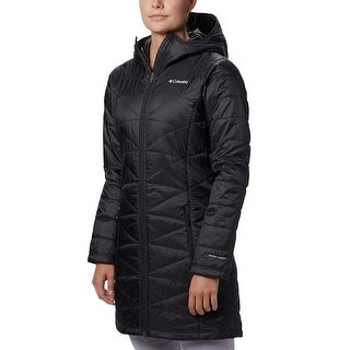 Columbia Women's Mighty Lite Hooded Jacket, Black, 2X, Black, Size 2.0 - 2