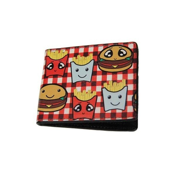 Buckle-Down Bifold Wallet Burger