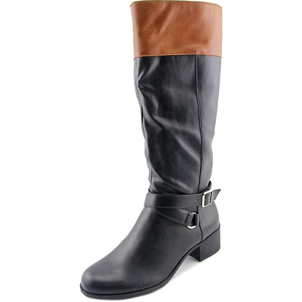 Style & Co Vedaa Women Black/Barrel Boots
