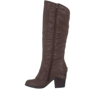 Link to American Rag Womens Emilee Fabric Almond Toe Knee High Fashion Boots Similar Items in Women's Shoes