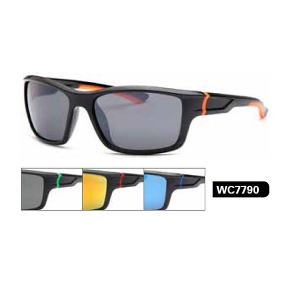 West Coast Unisex-Adult Sport Wrap Sunglasses