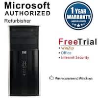 HP 8100 Elite Computer Tower Intel Core I3 530 2.93G 4GB DDR3 1TB Windows 10 Pro 1 Year Warranty (Refurbished) - Black