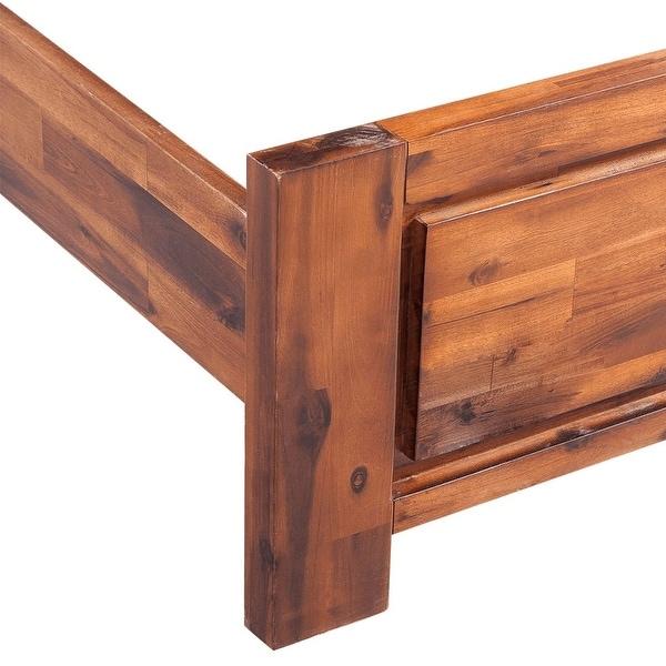 Antiques Vidaxl Solid Acacia Wood Bed