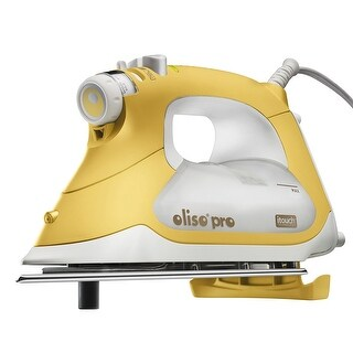 Oliso Pro TG1600 Smart Iron with iTouch Technology, 1800 Watts, Yellow