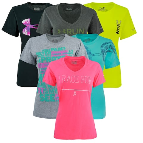 Under Armour Women's Graphic Mystery T-Shirt 2-Pack