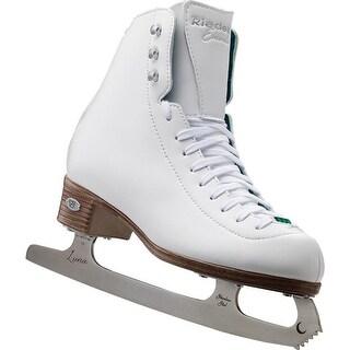 Riedell 119 Emerald - White Ladies Figure Skate