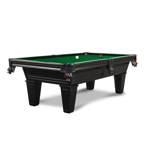 Milly 8' Slate Pool Table w/Premium Billiard Accessories