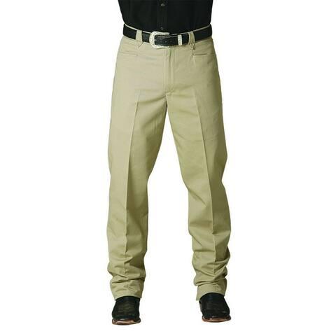 Miller Ranch Western Pants Slacks Mens The Stockman Khaki