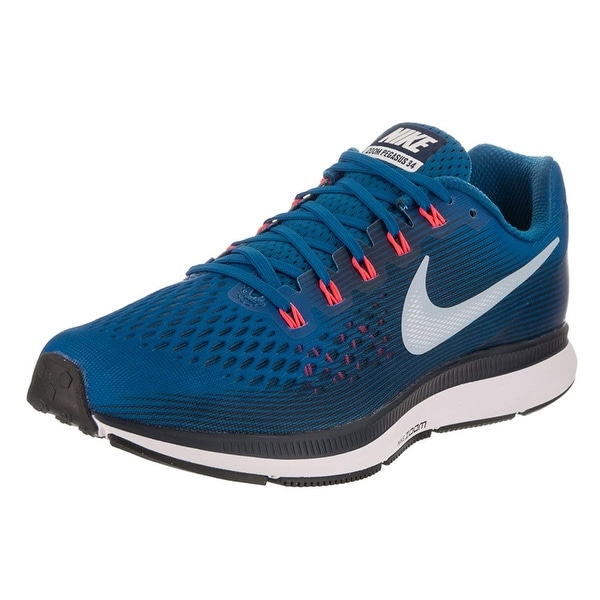 b6357e1910c78 Nike Men's Air Zoom Pegasus 34 Running Shoe Blue Jay/Lt Armory  Blue-Obsidian 10.0