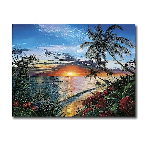 Sunset Serenade by Scott Westmoreland Gallery Wrapped Canvas Giclee Art (24 in x 32 in)