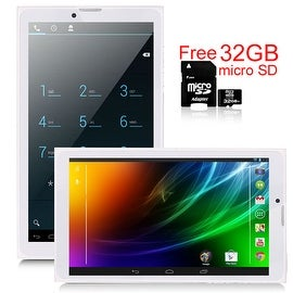 Indigi® 7inch Factory Unlocked 3G SmartPhone 2-in-1 Phablet Android 4.4 KitKat Tablet PC w/ WiFi + 32gb microSD Included