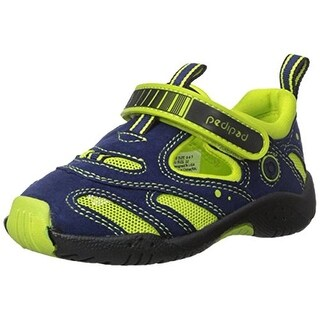 Pediped Boys Stingray Little Kid Faux Suede Water Shoes - 10-10.5 medium (d)