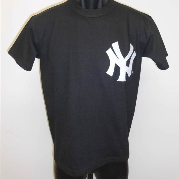 Shop -Mlb Ny Ny Yankees Youth Medium M (10 12) Shirt - On Sale ... 532b6001783