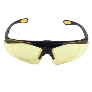 ROBESBON Authorized Eyewear Removable Frame Goggles Lens Riding Glasses Yellow