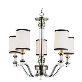 Trans Globe Lighting 7975 Five Light Chandelier from the Modern Meets Traditiona