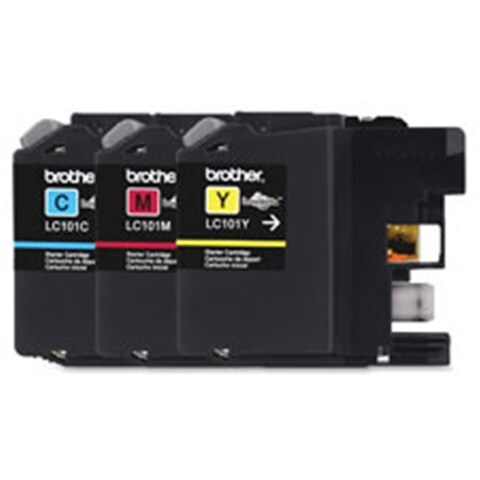 Ink Cartridges, 300 Page Yield Ea., 3-PK, MA-CYN-YW