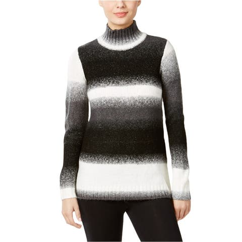 G.H. Bass & Co. Womens Striped Pullover Sweater