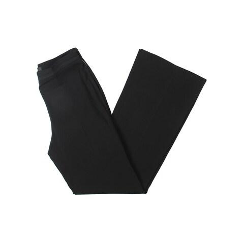 Badgley Mischka Womens Dress Pants Flared Flat Front