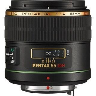 Pentax Telephoto 55mm f/1.4 DA* SDM Autofocus Lens for Digital SLR