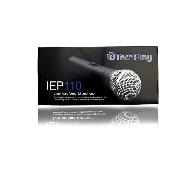 TechPlay IEP110, professional vocal Dynamic Microphone ideal for