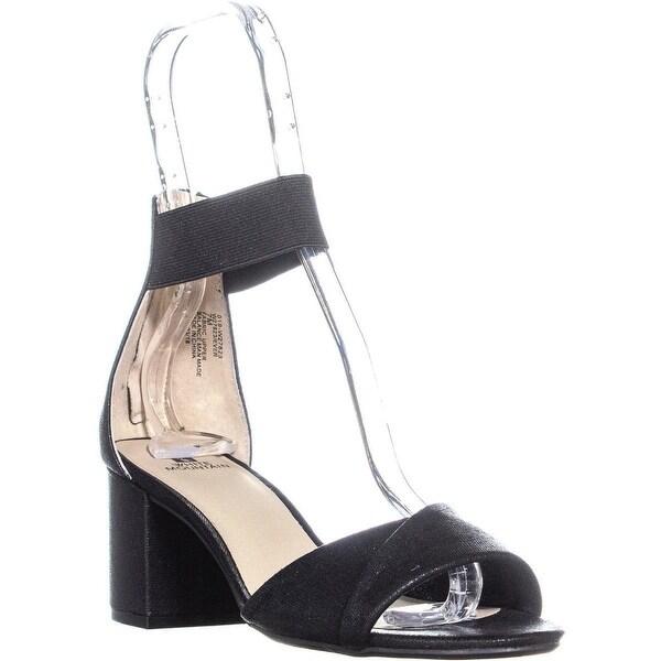 Shop White Mountain Ever Block Heel Sandals, Black - Free Shipping