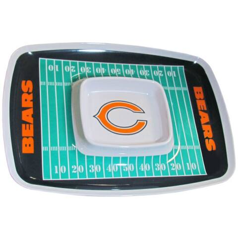 Siskiyou Sports Chicago Bears Chip And Dip Tray Chip and Dip Tray