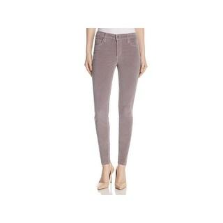 Joe's Womens Icon Ankle Jeans Skinny Velveteen