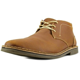Kenneth Cole Reaction Desert Wind Men  Round Toe Leather Brown Desert Boot