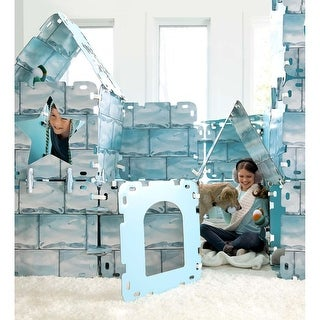 HearthSong Frozen Igloo Fantasy Fort, 16 Pieces - One Size