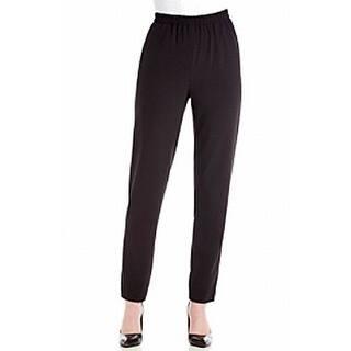 Nine West NEW Black Women's Size 10 Pull On Slim Leg Dress Pants|https://ak1.ostkcdn.com/images/products/is/images/direct/8a3c2600e5c19c221bd970a1dac1ceb48066ebbb/Nine-West-NEW-Black-Women%27s-Size-10-Pull-On-Slim-Leg-Dress-Pants.jpg?impolicy=medium