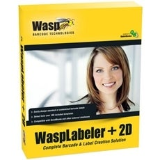 Wasp 633808105266 Wasp WaspLabeler +2D - Complete Product - 1 User - Barcode Labelling - Standard Retail - PC