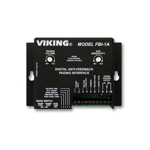 Viking fbi-1a viking feedback eliminator