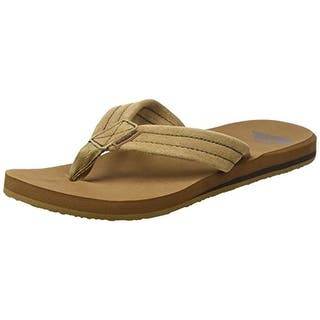 Quiksilver Mens Carver Flip-Flops Suede Thong|https://ak1.ostkcdn.com/images/products/is/images/direct/8a3f5ac3f266c0f692b0f34bc379194cb8ae4b92/Quiksilver-Mens-Carver-Suede-Thong-Flip-Flops.jpg?impolicy=medium